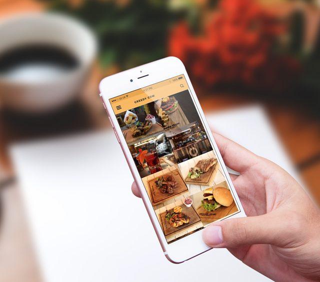 Greedy Cow App Hove Digital