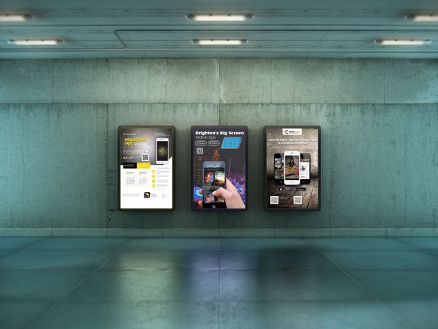 Hove Digital Mobile App Posters