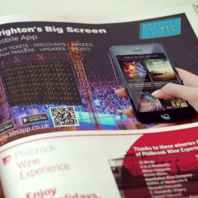 Magazine Advert – Brighton's Big Screen