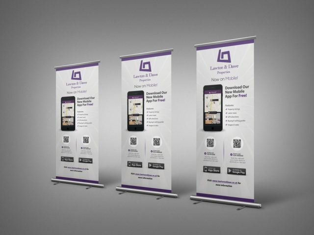 Lawton & Dawe Mobile Application Rollup Banner Developed By Hove Digital