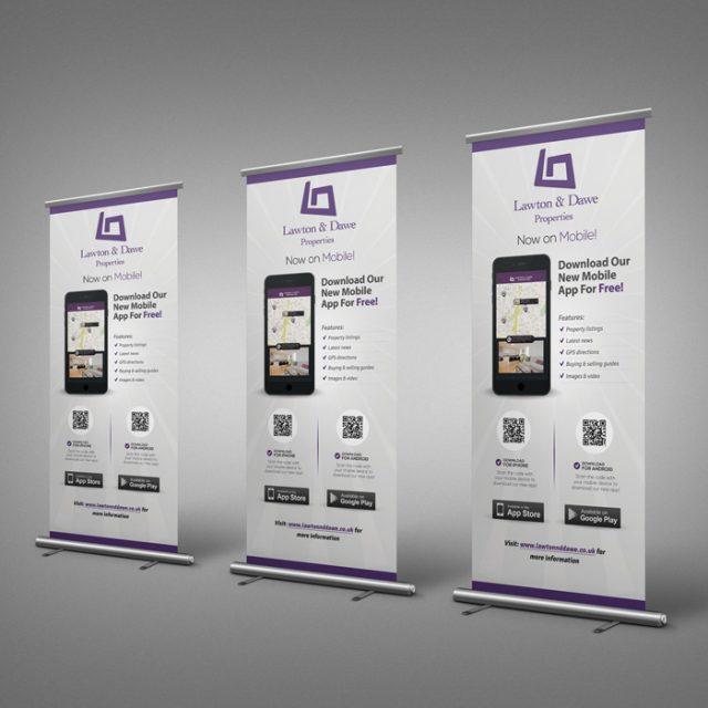 Lawton & Dawe Mobile Application Rollup Banner Developed By Hove Digital
